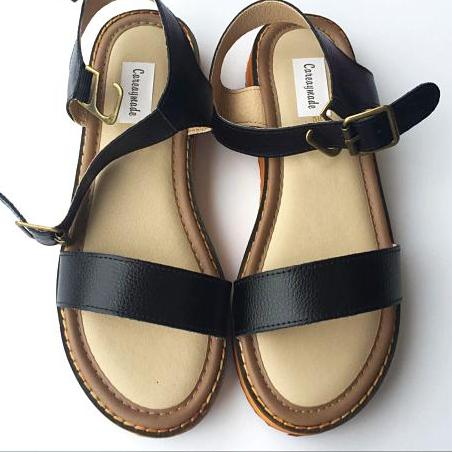 Leather Sandals Flats
