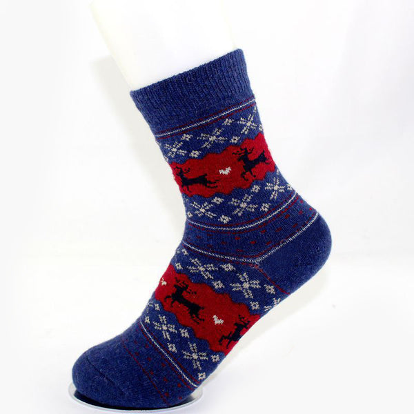Thick Deer Pattern Socks
