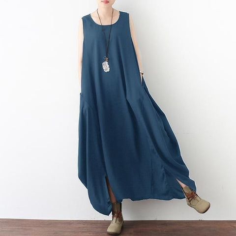 Sleeveless Low Rise Overalls