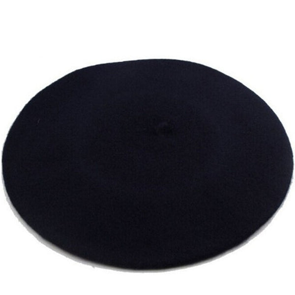 Solid Color Wool Berets