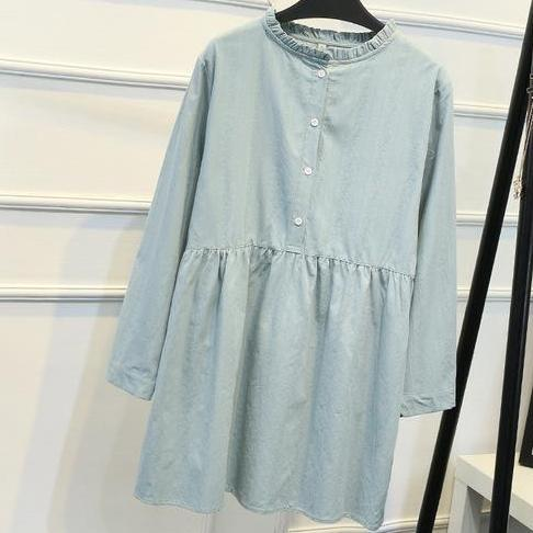 Long Sleeve Cotton Tunic