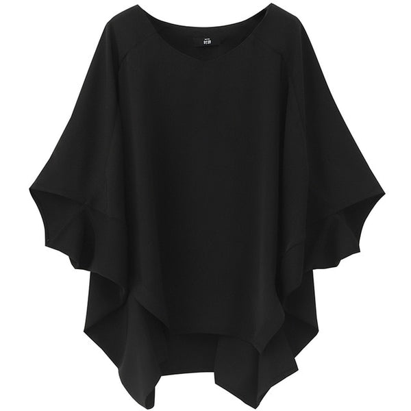 Half Sleeve Loose Wing Shirt