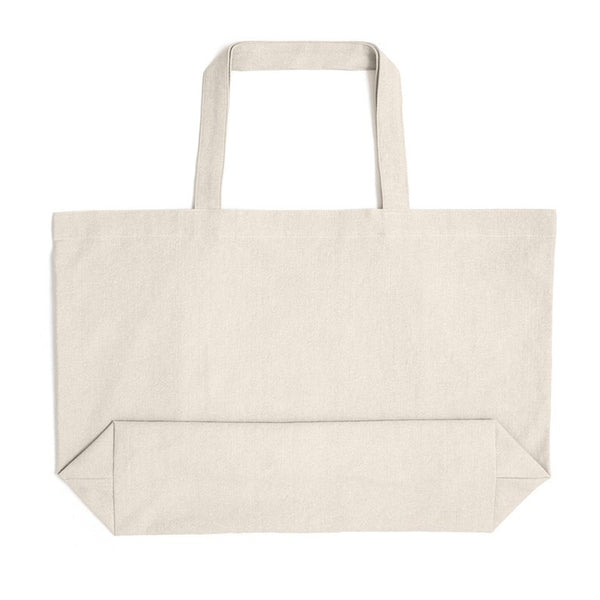 Large Cotton Canvas Shopping Bag