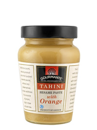 Gourmante Tahini with Orange 350gr
