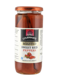 Gourmante Roasted Sweet Red Peppers in Brine 450gr