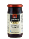 Gourmante Whole Kalamata Olives in Brine 360gr