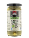Gourmante BIO Whole Green Olives in Brine 240gr