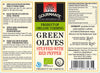 Gourmante BIO Green Olives Stuffed with Red Pepper in Brine 240gr