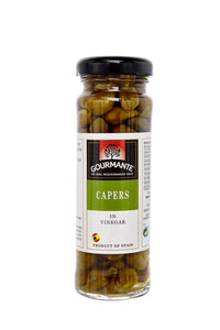 Gourmante Capers in Vinegar 60gr