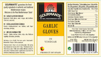 Gourmante Garlic Cloves in Vinegar 60gr