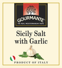 Gourmante Sicily Salt with Garlic 90gr