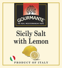 Gourmante Sicily Salt with Lemon 90gr