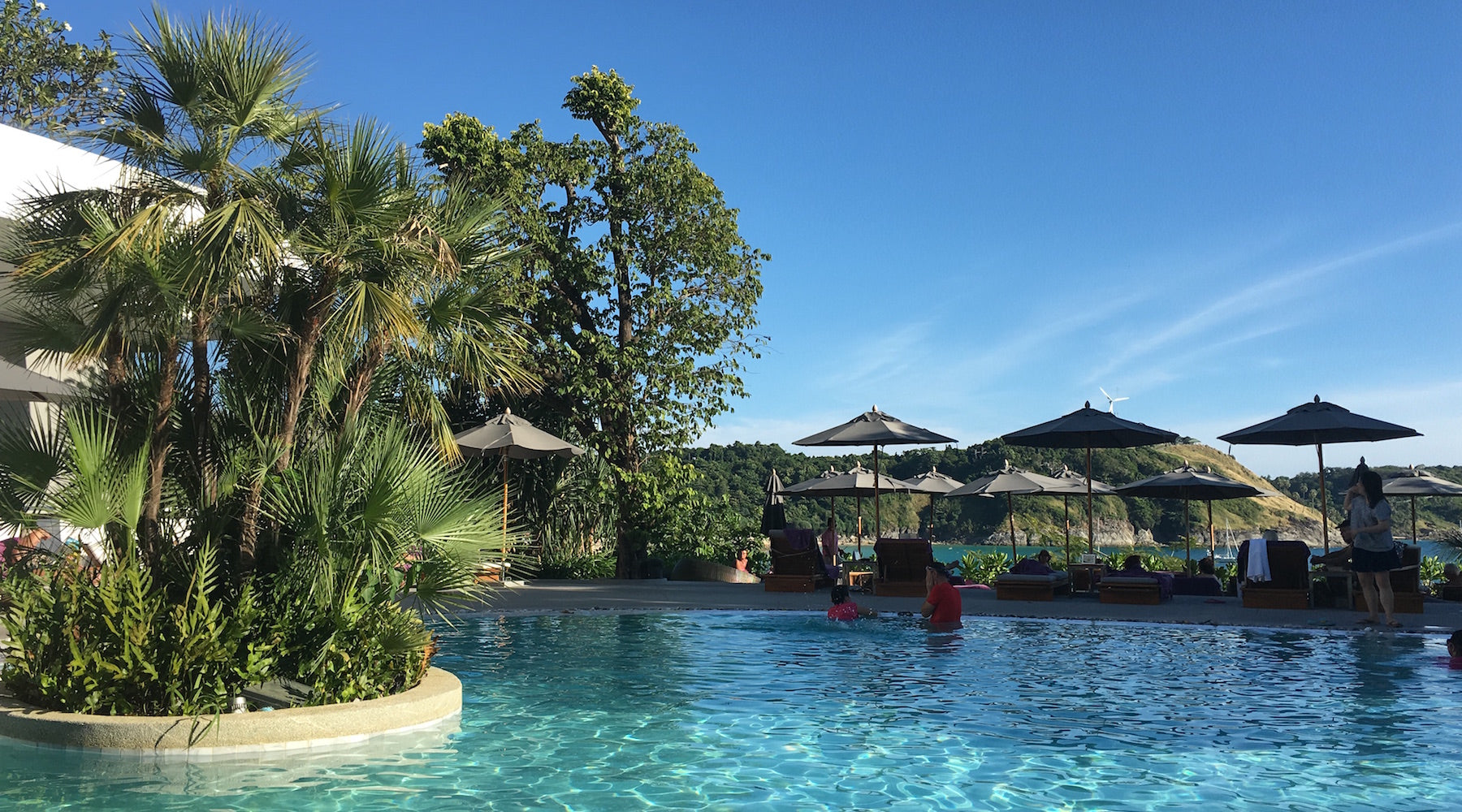 Nai Harn Resort swimming pool