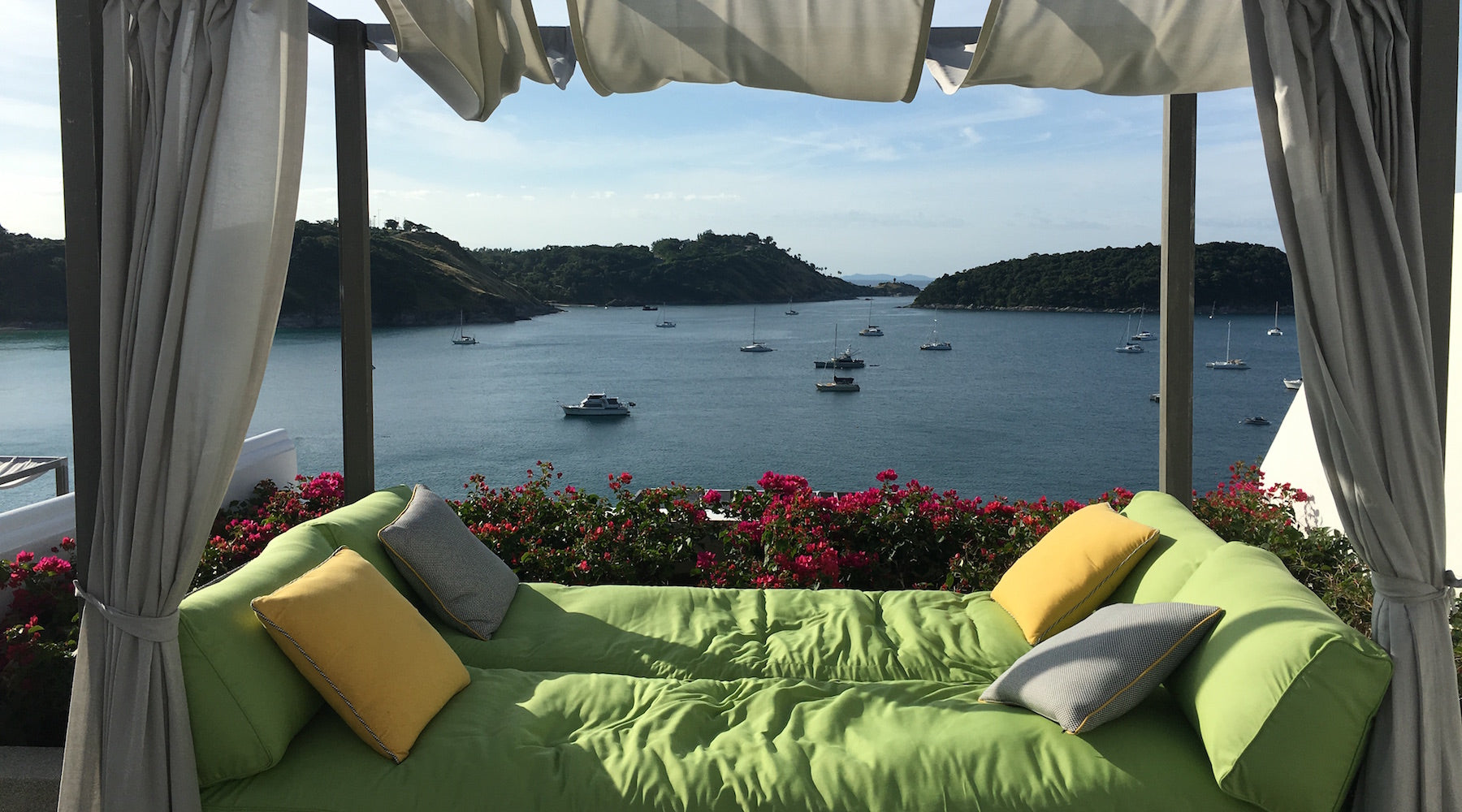 Nai Harn Resort room with a view