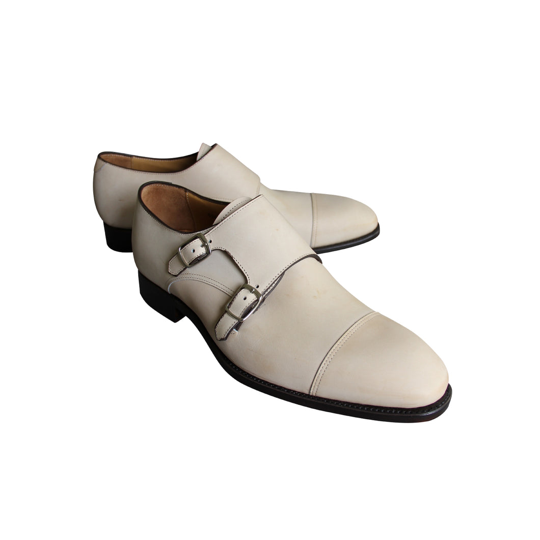 Men's Carlos Santos Double Monk Shoes Patina by Staunton Moods