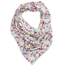 Women's White Wonderland Square Silk Scarf
