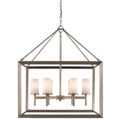 Golden Lighting 2073 6 Smyth 6 Light Chandelier