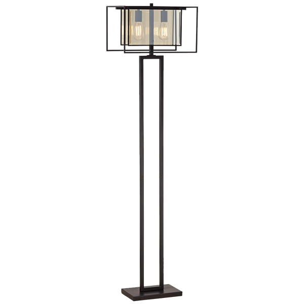 Hazelhurst 2 Light Floor Lamp
