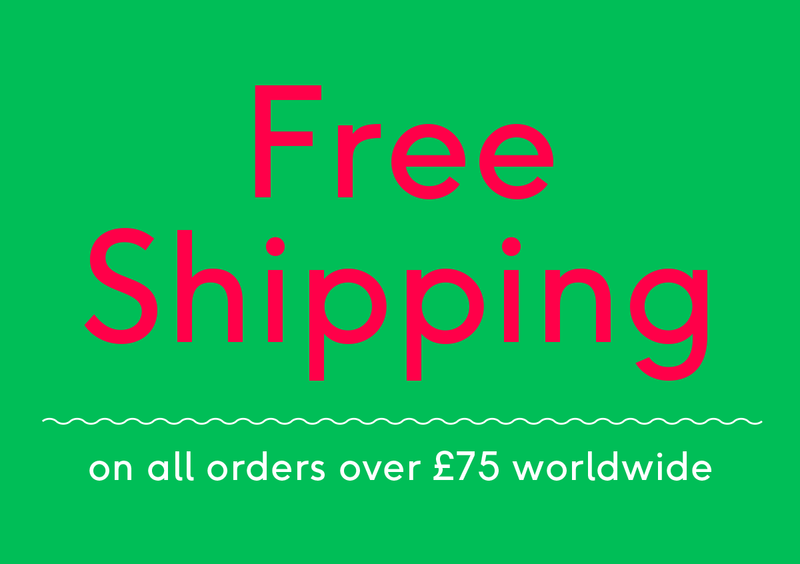 Get Free Postage on Orders Over £75