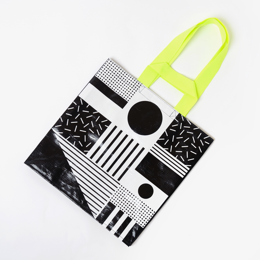 Small Mono Tote Bag