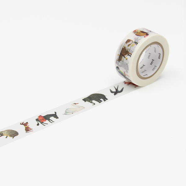 Alain Grée – Animal Washi Tape