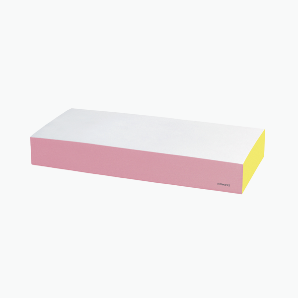 Large Colour Block – Pink/Yellow