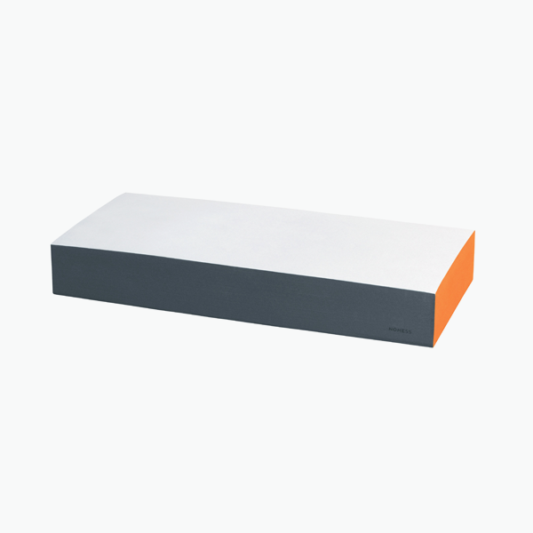 Large Colour Block – Orange/Grey