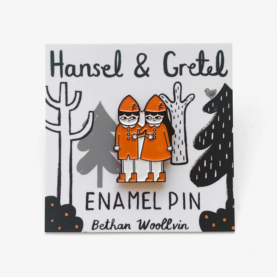 Hansel and Gretel Enamel Pin