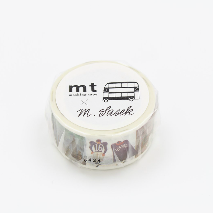 Miroslav Sasek – This is New York Washi Tape