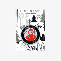 Little Red Woven Patch