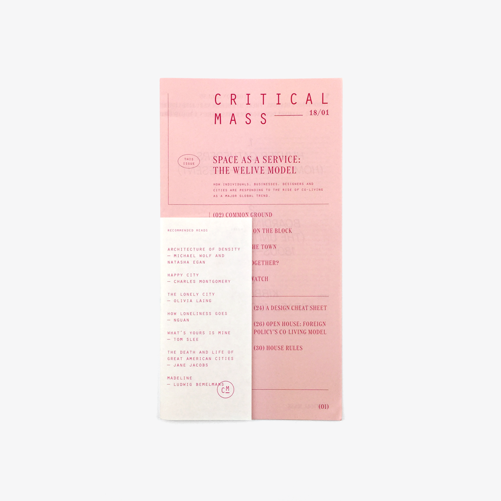 Critical Mass: Issue 18/01