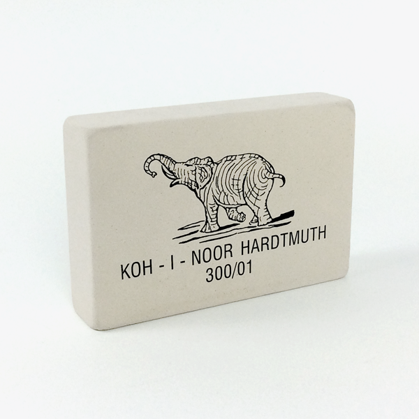 Large 'Elephant' Soft Eraser