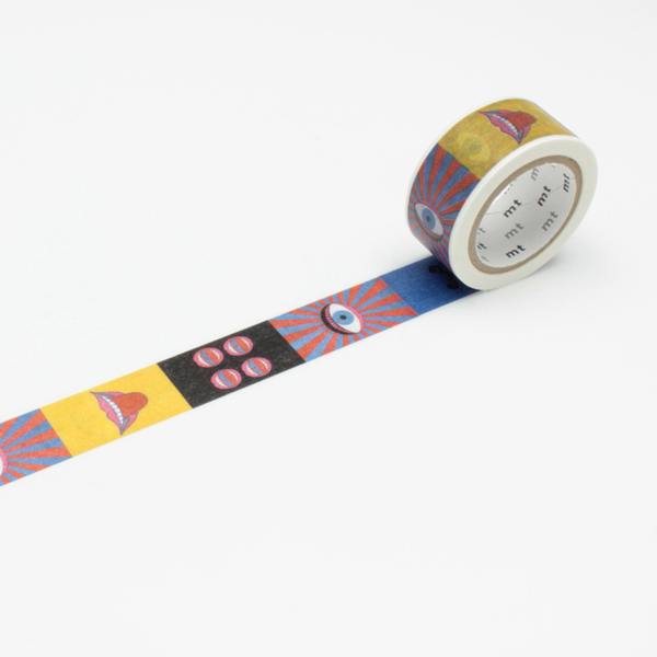 Tadanori Yokoo – Eye and Mouth Washi Tape
