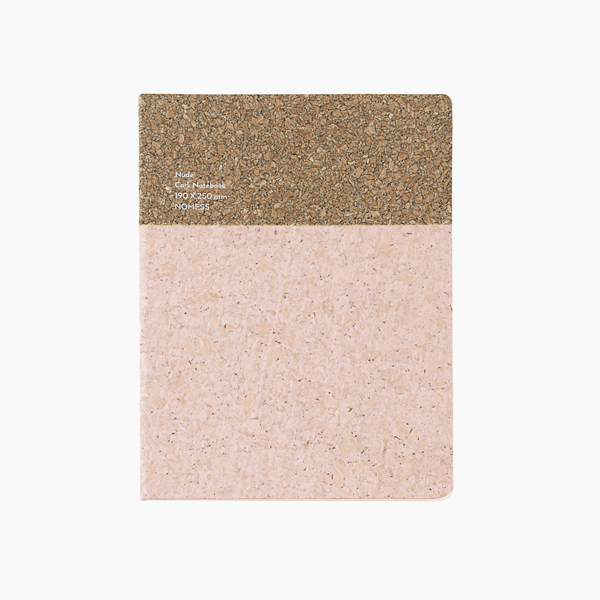 Large Cork Notebook – Pink