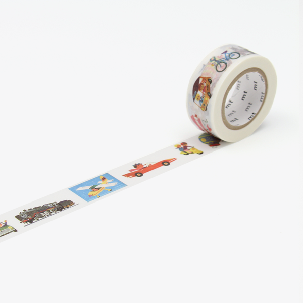 Alain Grée – Vehicle Washi Tape