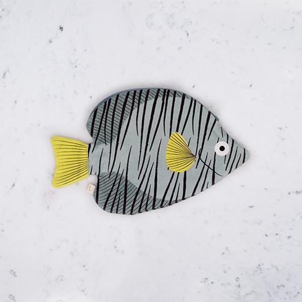 Butterfly Fish Case (Green)