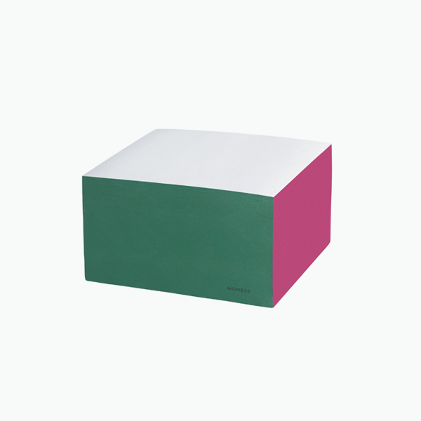Small Colour Block – Pink/Grey/Green