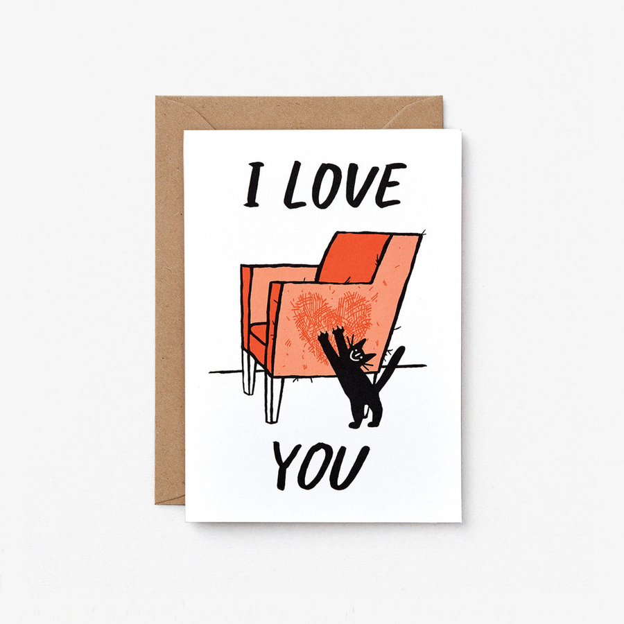 Cat Love Card