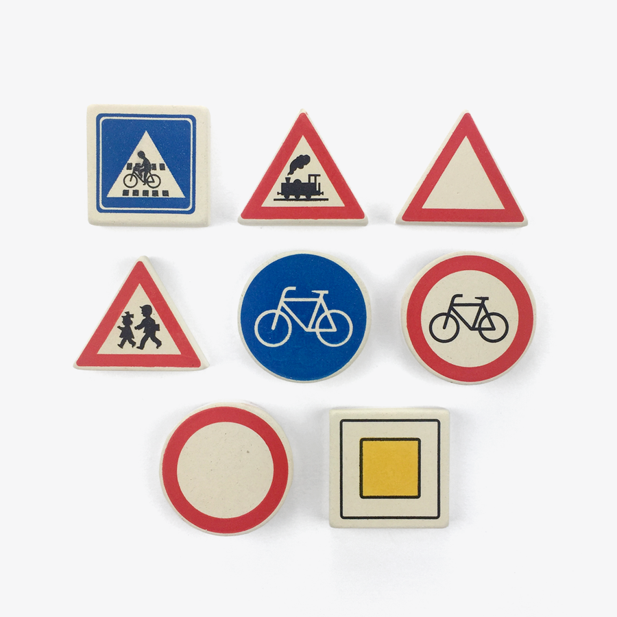 Traffic Sign Erasers