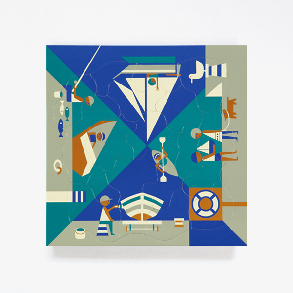 Fredun Shapur Puzzle – Seaside