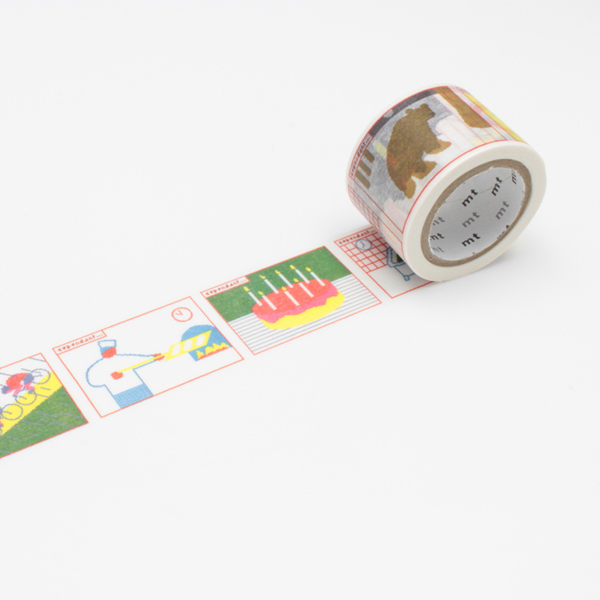 Paul Cox – Washi Tape