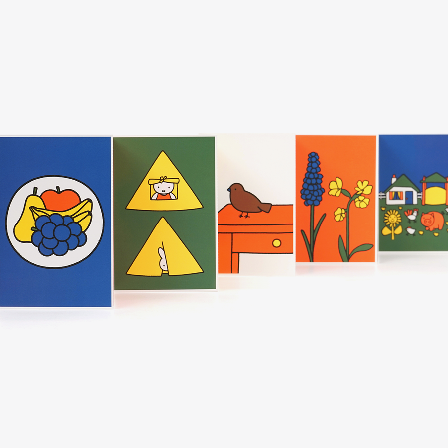 Dick Bruna Objects Postcard Set