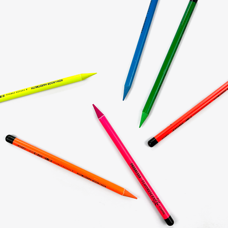 Progresso Fluorescent Pencils