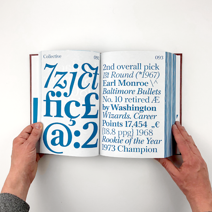 Shoplifters, Issue 8 – New Type Design