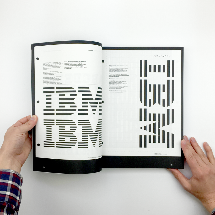 IBM Graphic Design Guide from 1969 to 1987