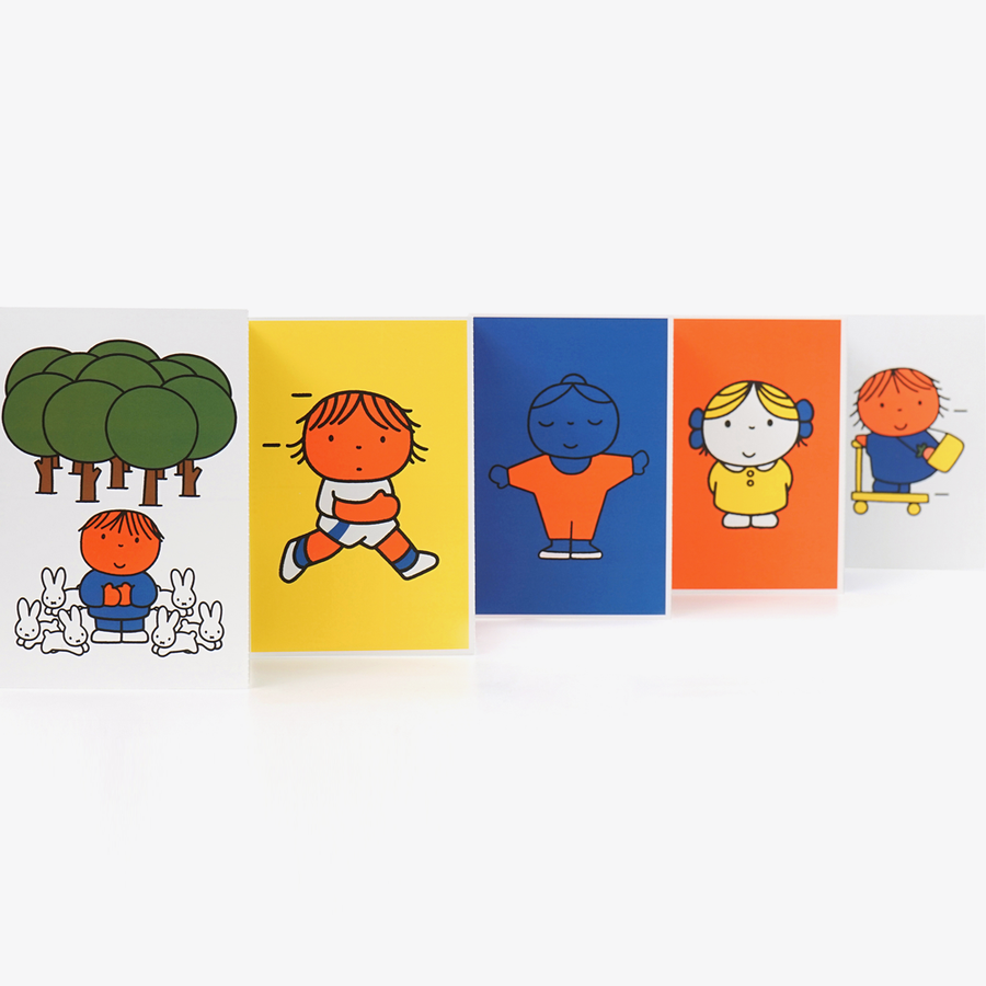 Dick Bruna Children Postcard Set