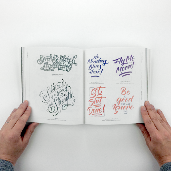 Handstyle Lettering: From calligraphy to typography