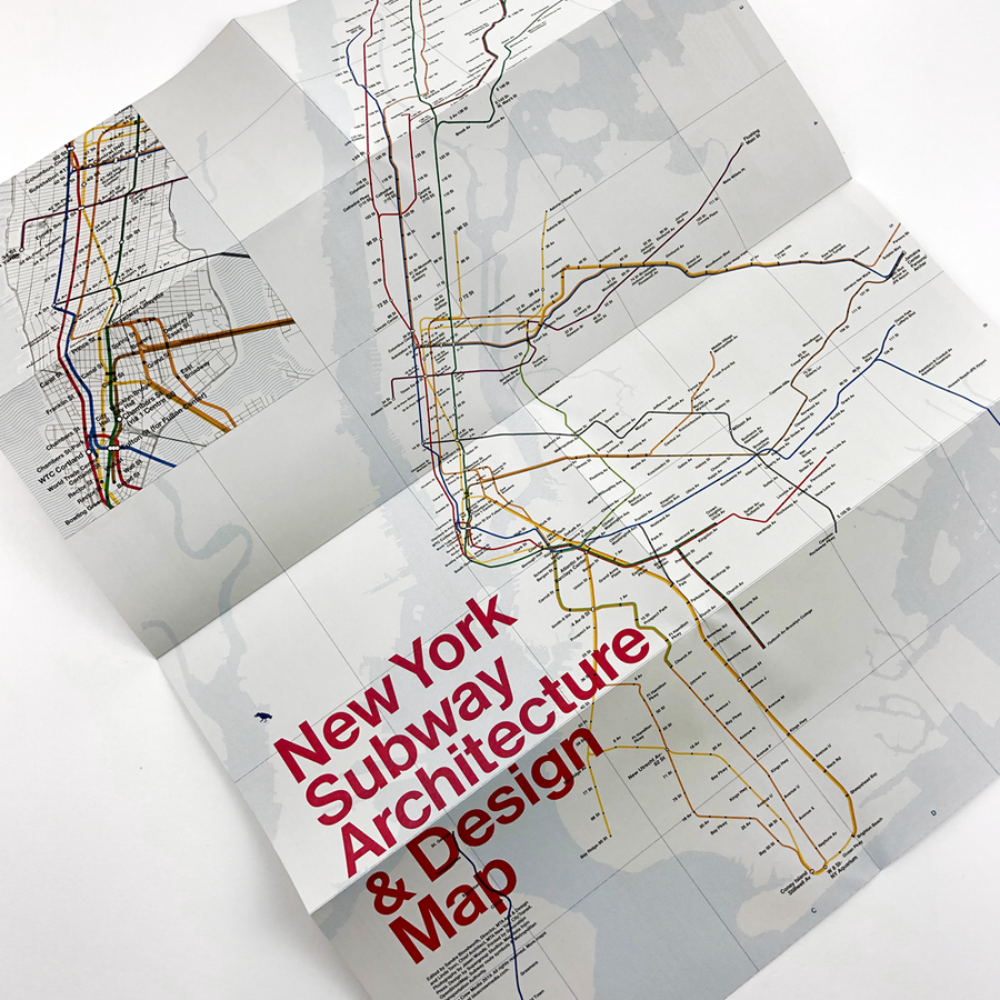 New York Subway Architecture and Design Map