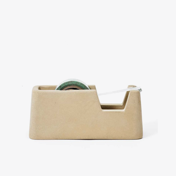 Small Concrete Format Tape Dispenser – Sand