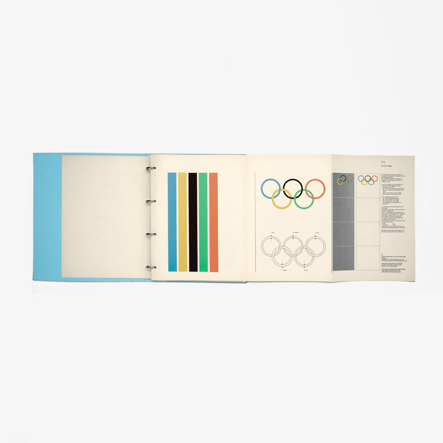 Guidelines and Standards for the Visual Design: The Games of the XX Olympiad Munich 1972